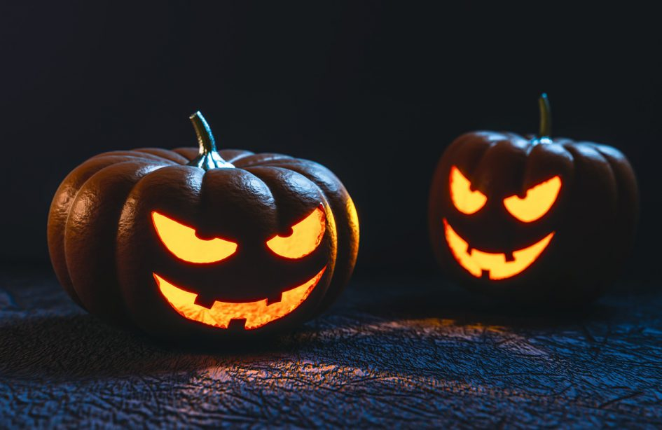 Dialoger på engelska - Halloween
